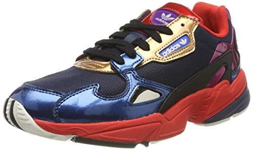 adidas Falcon W, Scarpe da Fitness Donna, Multicolore Maruni/Rojo 000, 36 1/3 EU