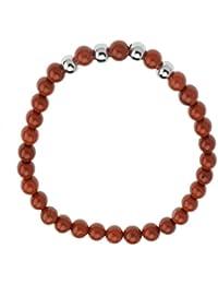 Jaspe Rouge-Semi-Precieuse/Bracelet DE 6,5 cm