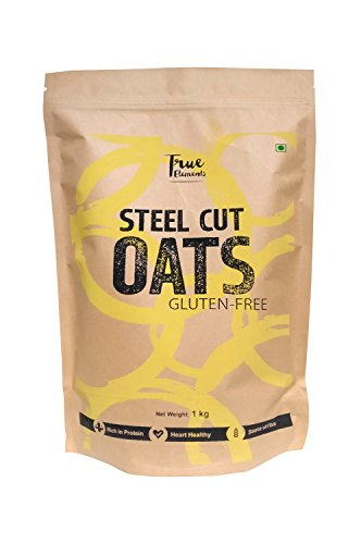 True Elements Gluten Free Steel Cut Oats, 1kg