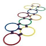 Rayuela Anillo Que Juega Juega 10 Multicolor De Anillos De Plástico Y...