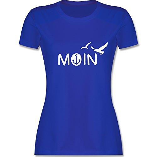 Statement Shirts - Moin - S - Royalblau - L191 - Damen Tshirt und Frauen T-Shirt