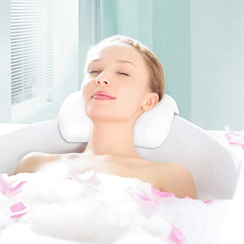 las 5 Mejores Almohadas para bañera