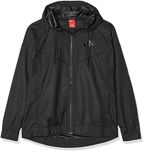 Nike, Jacket Black Black Black