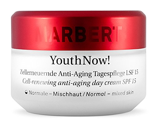 Körperpflege Normale Haut Creme (Marbert YouthNow Anti-Aging Tagescreme (LSF 15) normale/gemischte Haut, 1er Pack (1 x 50 ml))