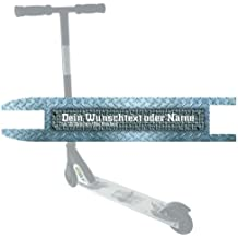 Custom Grip Tape STEEL para patinete