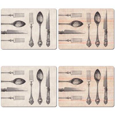 skye-rogers-4-sets-de-table-motif-couteau-fourche-imprime-lot-de-4