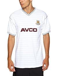 Score Draw Official Retro West Ham United 1986 - Maglietta da calcio  originale 0a933548b5b5