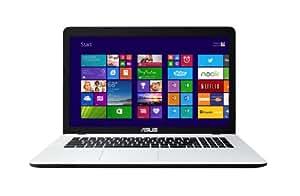 Asus F751MA-TY096H 43,9 cm (17,3 Zoll) Notebook (Intel Celeron Quad Core N2930, 2,1GHz, 8GB RAM, 1TB HDD, Intel HD, DVD, Win 8) weiß