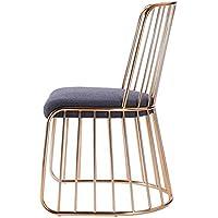 Taburete Feifei Nordic Creative Bar Chair Bar en Hierro Forjado Home Cafe Lounge Chair Silla Alta