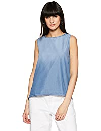 DJ&C By FBB Women's Plain Regular Fit Shirt