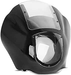 Scheinwerferverkleidung Q1 Kompatibel Für Harley Davidson Dyna Sportster Klar Auto