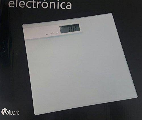 TXT BASCULA BASCULA BLANCA DE CRISTAL MAX 180KG