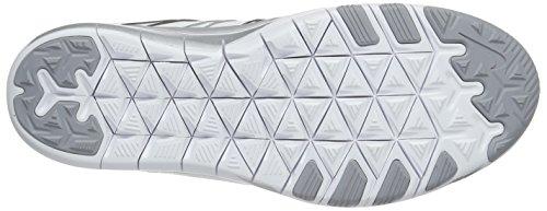 Nike Donna Wmns Free Tr 6 scarpe da ginnastica Bianco (White/Metallic Silver-Wlf Grey)