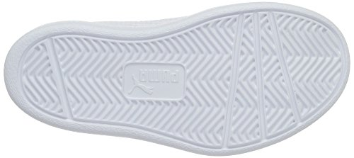 Puma Unisex-Kinder Courtflex Ps Low-Top Blau (peacoat-puma white 01)