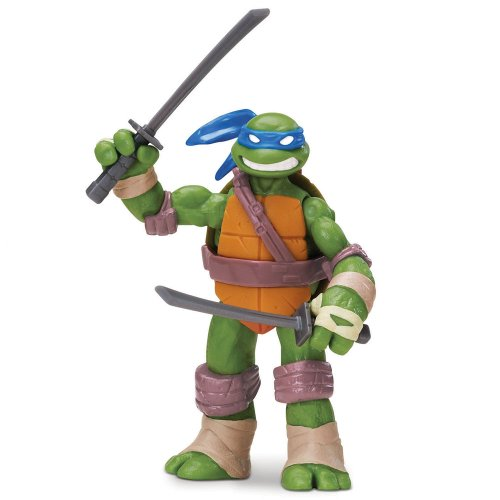 Teenage Mutant Ninja Turtles 14090501 - Leonardo Basis Figur (Ninja Turtles Mutanten)
