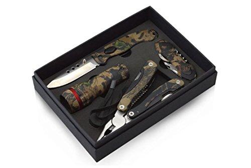 Messer Set Campingmesser Taschenmesser Jagdmesser Armeemesser Angelmesser Multifunktionszange Multifunktions Messer, Zange