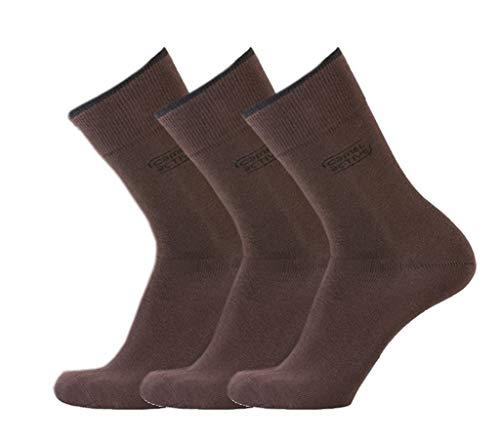 camel active Basic Socks 3er chocolate 43-46