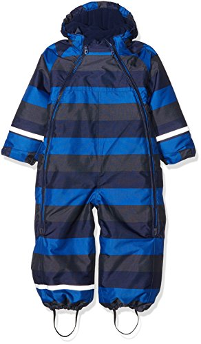 CareTec Baby Schneeanzug, Mehrfarbig (Blue Nights 7899), 92