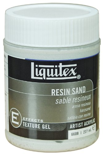 Liquitex - Gel testurizzante, sabbia con resina, per colori acrilici o a olio, contenitore da 237 ml