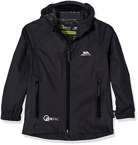 Trespass Kids Qikpac Compact Pack Away Waterproof Rain Jacket