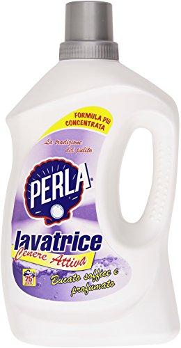 Perla Cenere Attiva Lavatrice, Bucato Soffice e Profumato - 2150 ml