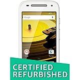 (Certified REFURBISHED) Motorola Moto E 2nd Gen XT1506 (White, 8GB)