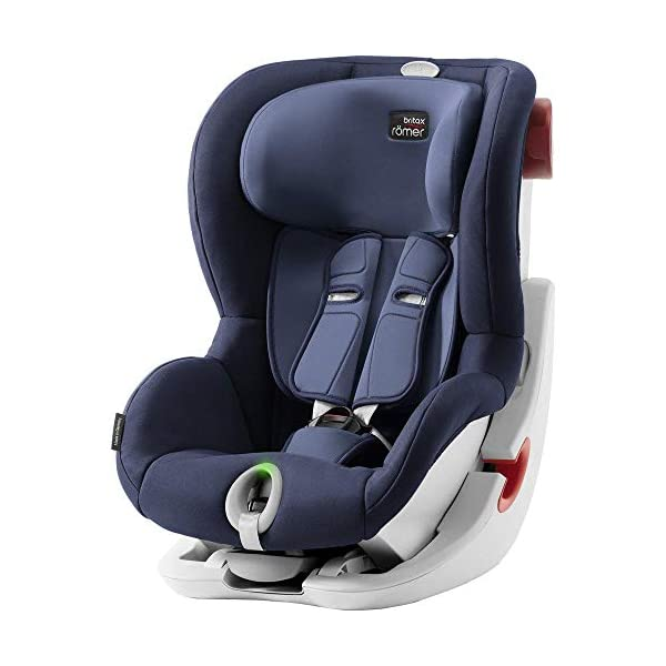 Britax Römer King II LS Group 1 Car Seat Britax Römer Easy installation – with tilting seat and patented seat belt tensioning system Optimum protection – performance chest pads, deep, padded side 1