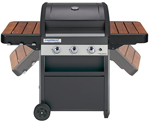Campingaz  3 Series Woody LX Gas BBQ, Black and Grey