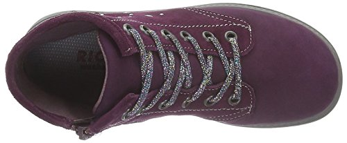 Ricosta Adine, Sneakers basses fille Violett (Merlot 363)