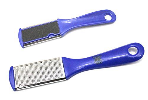 Peau morte Callus supprimer 2 - côté bleu pied Pédicure Râpe brosse Fichier disque rugueuse