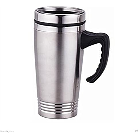 Stainless Steel Insulated Double Wall Travel Coffee Mug Cup 16OZ