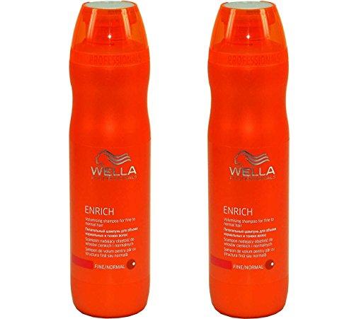 Wella Care Enrich Volumen-Shampoo für feines bis normales Haar SET 2 x 250ml