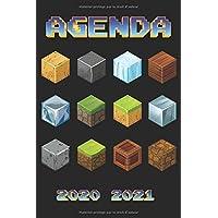 Agenda 2020 2021: Organiseur Scolaire (Septembre 2020 / Août 2021) pour Étudiants Collège, Lycée – Planificateur…