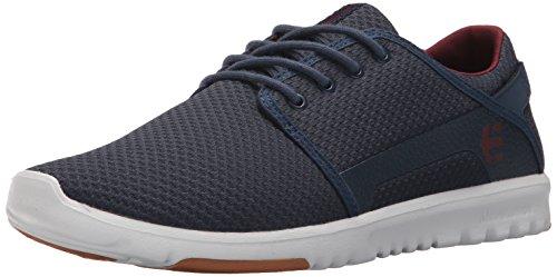 Etnies Herren Scout Sneaker, Blau (425-navy/red), 45 EU(10 UK) -
