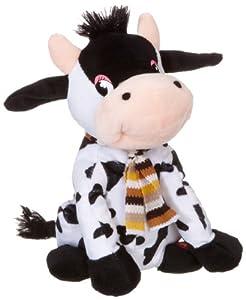 Happy People 58971 - Vaca de peluche con sonido de 19 cm Importado de Alemania