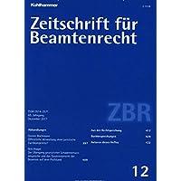 Zeitschrift für Beamtenrecht [Jahresabo]