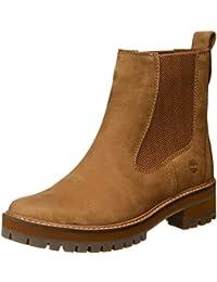 braune timberland boots damen