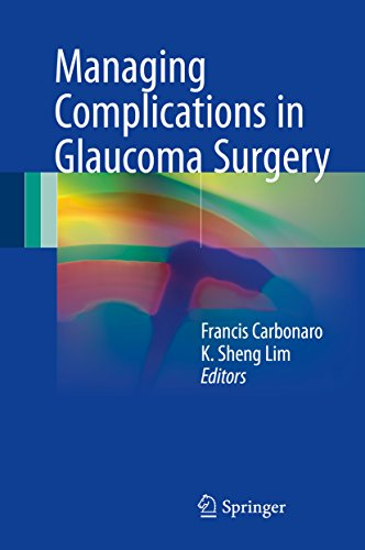Managing Complications In Glaucoma Surgery por Francis Carbonaro epub