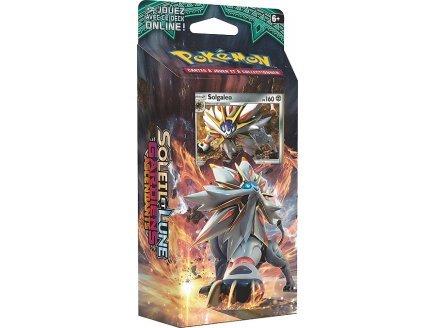 Pokemon soleil et lune deck solgaleo starter soleil d'acier - cartes a collectionner - neuf version