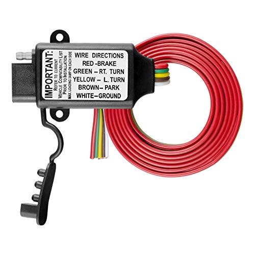 Curt 55177Non-Powered 3-to-2-wire Konverter Rücklicht (Anhänger-konverter-kit)