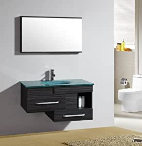 Ensemble meuble de salle de bain Alicante - Mirroir - vasque - meuble sous vasque - M-79032/1197
