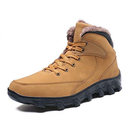 Scarpe da Ginnastica da Uomo Scarpe da Lavoro Antinfortunistiche Camminate  Invernali Calzature Resistenti all Usura d32e290029a