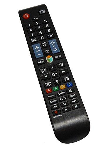 AERZETIX: Télécommande de TV télé DIS166 compatible avec SAMSUNG AA59-00581A