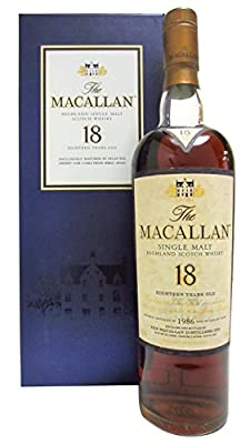 Macallan - Light Maghony Sherry Oak - 1986 18 year old Whisky