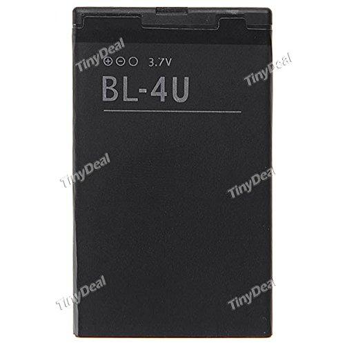 Tiny Deal BL-4U 1000mAh Mobile Battery for Nokia 6600 8800 3120 3120C 6212 E66 E75 5730 5330 5530 MBT-5977