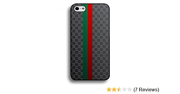 67fd79321023 iPhone 6/iPhone 6S 4.7inch Cell Phone Case Gucci Red Green Stripe Back  Design: Amazon.co.uk: Books