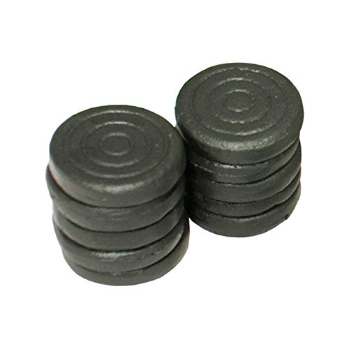 10discos o fichas para juego de la rana, en hierro fundido, juego de barril