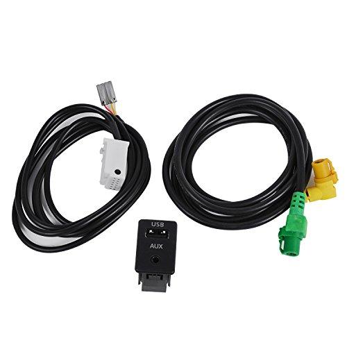 USB+AUX IN Wechselkabel RCD510 300 310 für VW Passat B6 B7 CC GOLF MK6 JETTA