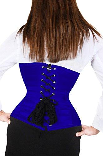 AB Korsett Manufaktur - Bustino - Top - Basic -  donna Blau