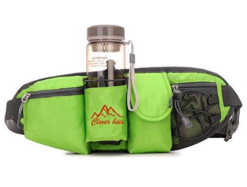 YAAGLE Sport Hüfttasche Wasserdicht Gürteltasche für Reise und Sport Taktische Militär Hüfttaschen grün
